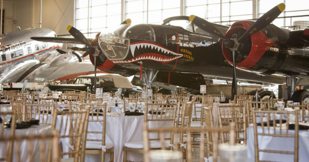 Lyon Air Musem and event center in Orange County