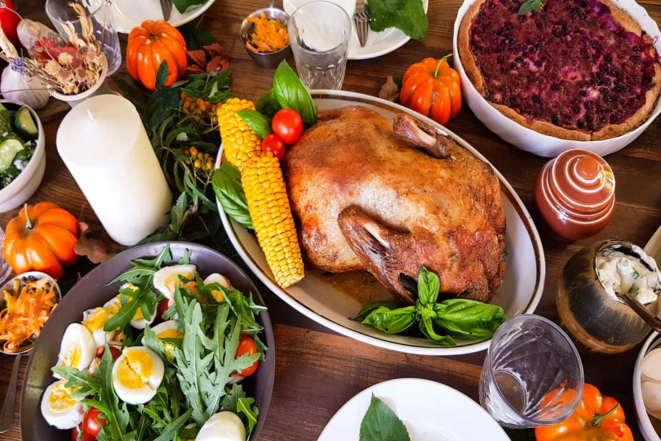 Top 10 Thanksgiving Dinners in Orange County